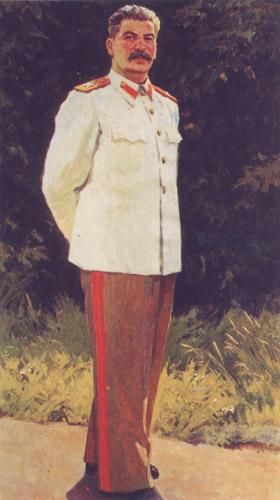 Портрет и в сталина художник а п